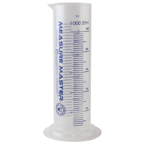Measure Master Graduated Cylinder 1000 ml / 35 oz (20/Cs)