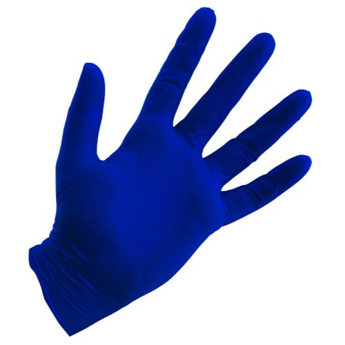 Grower's Edge Blue Powder Free Nitrile Gloves 4 mil - XX-Large (100/Box)