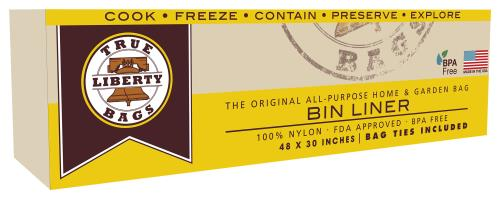 True Liberty Bin Liners 44 in x 30 in (10/Pack)