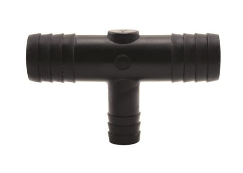 Hydro Flow Barbed Reducer Tee 3/4 in to 1/2 in (10/Bag)