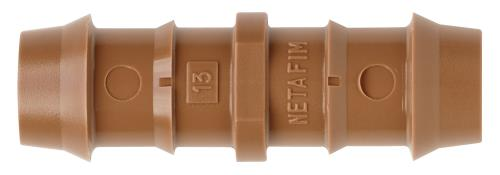Hydro Flow / Netafim 17 mm Insert Coupling (250/Box)