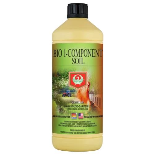 House and Garden Bio 1-Component Soil 1 Liter (12/Cs)