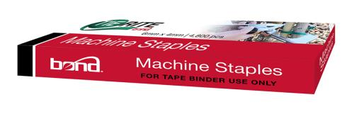 Bond TieRite Tape Gun Staples - 4800/Box