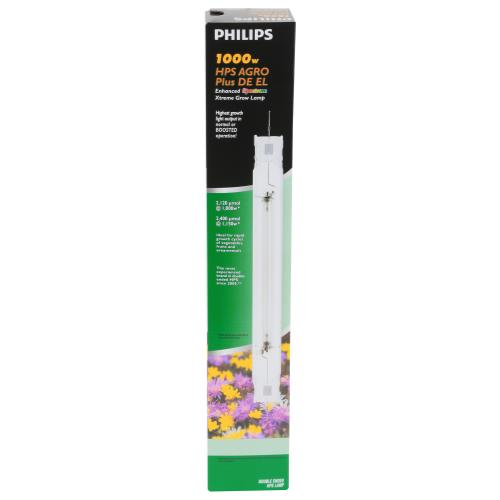 Philips 1000 Watt HPS AGRO Plus DE EL (12/Cs)