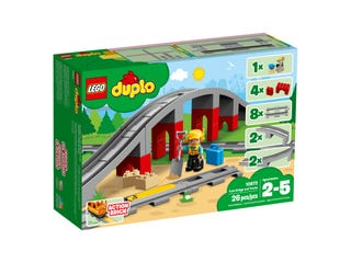 LEGO® DUPLO® 10872 Train Bridge and Tracks