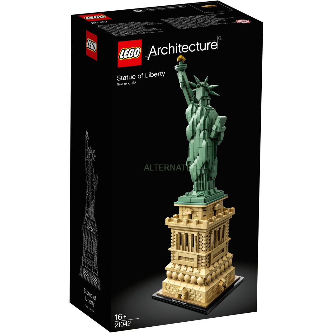 LEGO 21042 Architecture The Statue Of Liberty Detailed Pedestal Building Set