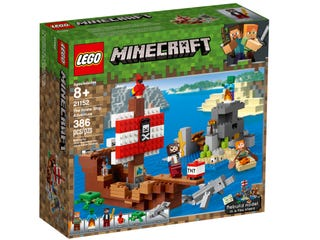 LEGO® Minecraft™ 21152 The Pirate Ship Adventure