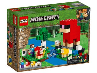 LEGO® Minecraft™ 21153 The Wool Farm