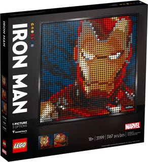 LEGO® Art 31199 Marvel Sudions Iron Man