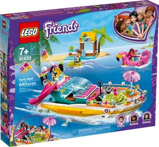 LEGO® Friends 41433 Party Boat