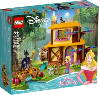 LEGO® Disney Frozen 43188 Aurora's Forest Cottage