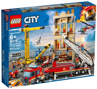 LEGO® City 60216 Downtown Fire Brigade