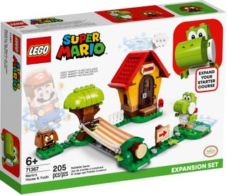 LEGO® Mario™ 71367 Mario's House & Yoshi Expansion Set