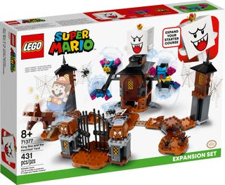LEGO® Mario™ 71377 King Boo & The Haunted Yard