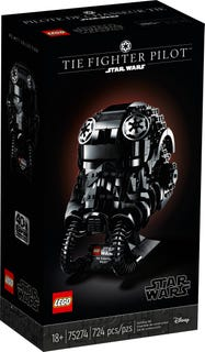 LEGO® Star Wars™ 75274 TIE Fighter Pilot Helmet