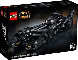 The LEGO® Marvel Super Heroes 76139 1989 Batmobile