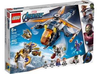 LEGO® Marvel Super Heroes Hulk Helicopter Rescue