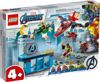 LEGO® Marvel Super Heroes 76152 Avengers Wrath of Loki