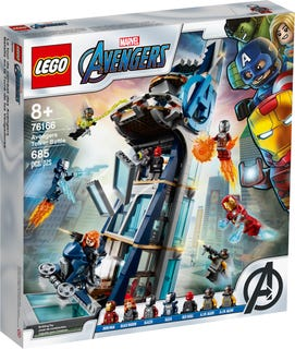 LEGO® Marvel Super Heroes 76166 Avengers Tower Battle