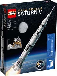 LEGO® Ideas 9176 NASA Apollo Saturn V