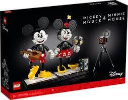 LEGO® Creator Expert 43179 Mickey & Minnie Mouse Buildable Characters