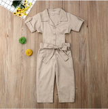Long Fashion Baby Jumpsuit