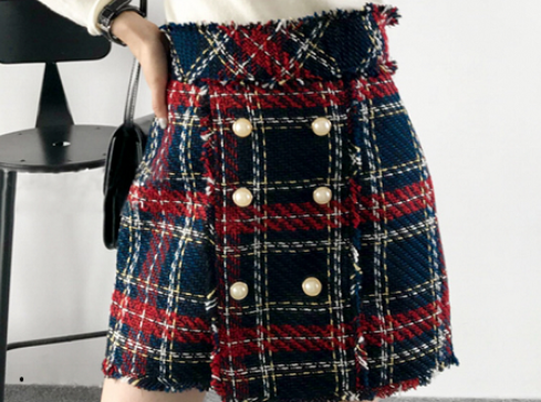 Gonna Fency corta tartan