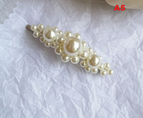 Hair clip with beads