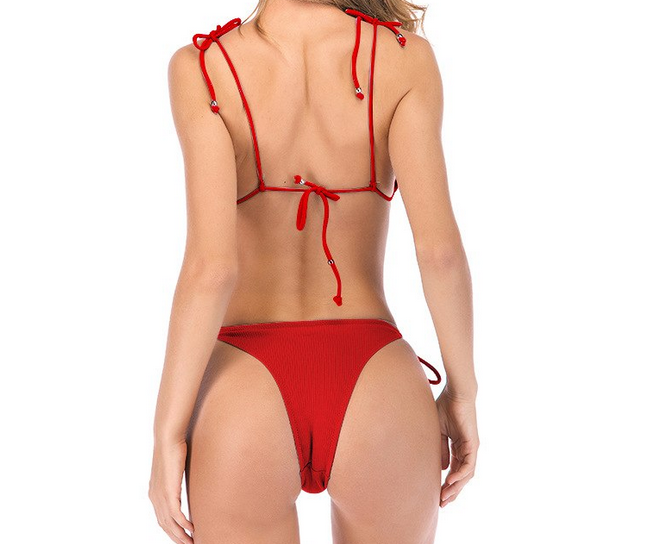 Two-piece Tullia swimsuit bikini and low waist briefs