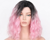 Short wig with waves