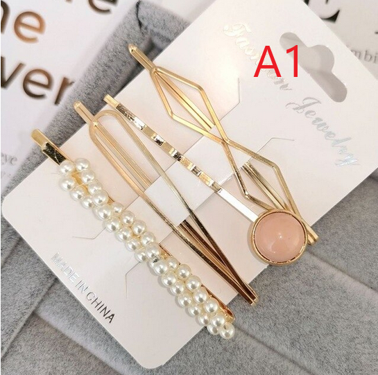 4-piece hair clip set