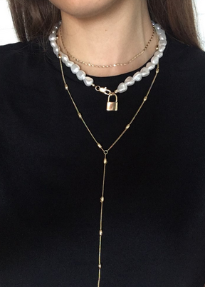 Smart Golden Necklace