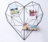 Heart wall photo frame