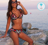 Bikini a triangolo e slip optical brasiliana