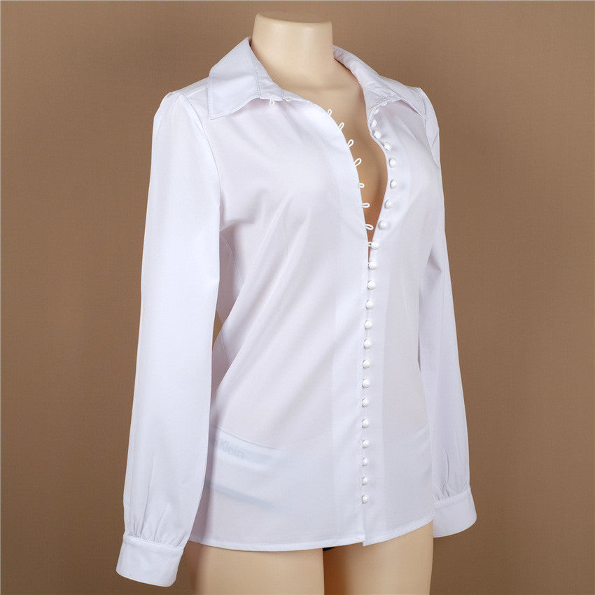 Camicia Giorgy con bottoncini chic