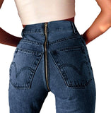 Zip Back jeans with back zip
