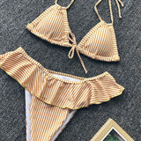 Two-piece Caramel costume