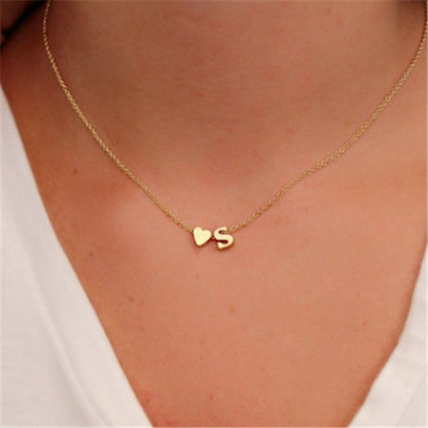 Collana Initial Heart