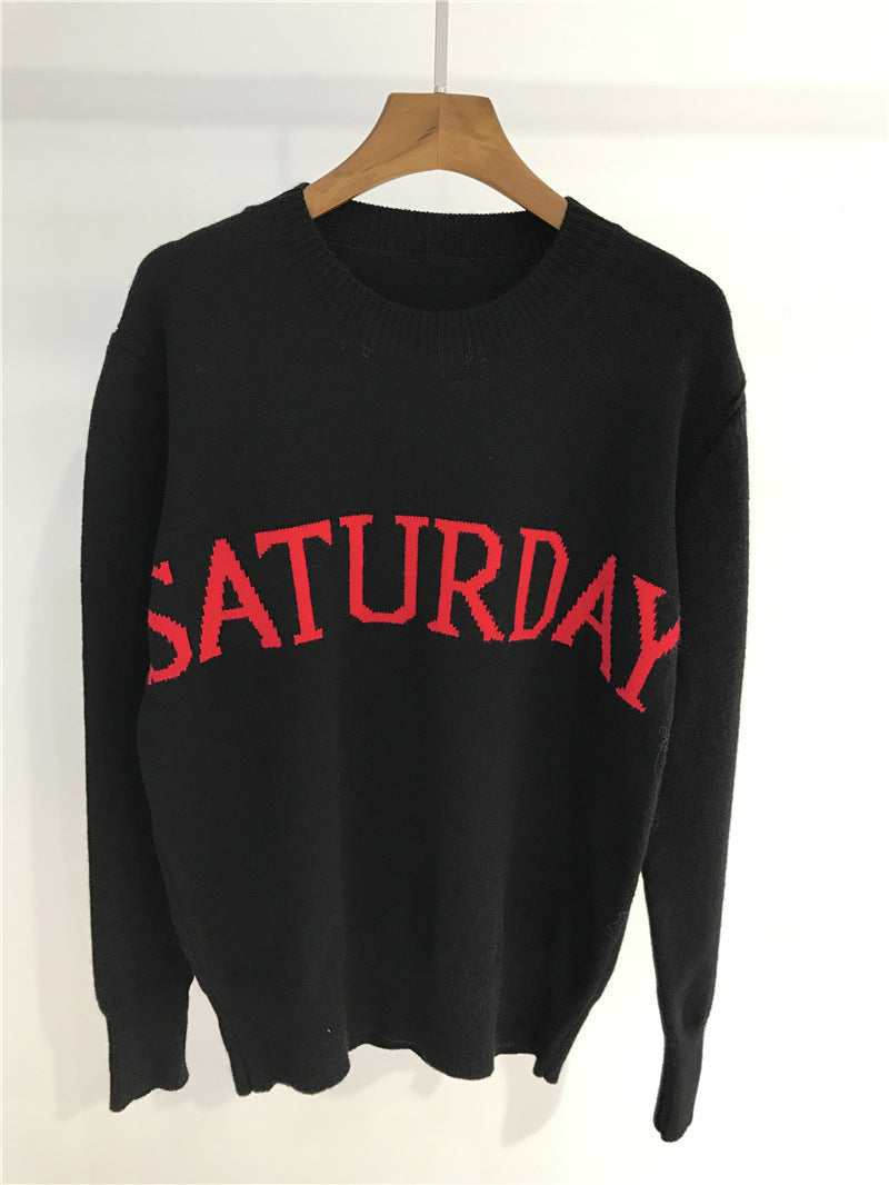 Maglione nero saturday - @ShopLowCost