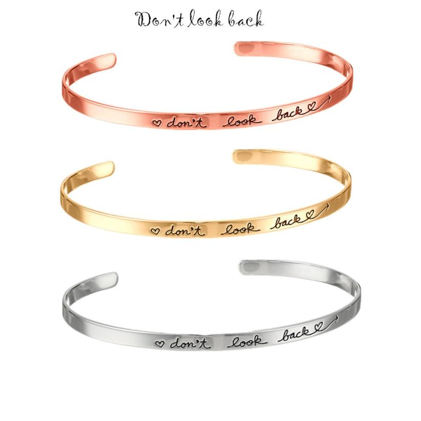 Wrist bracelet with writing