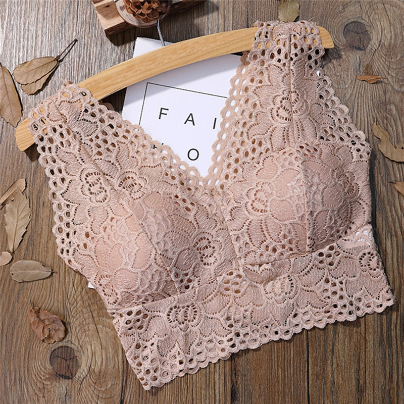 You Are Top lace push-up bra