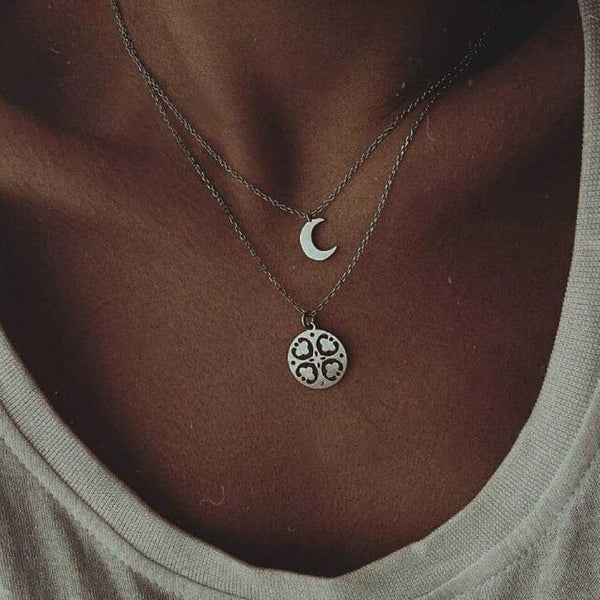 Collana Quarter Moon