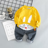 Complete Miro boy Rabbit, long-sleeved shirt and trousers