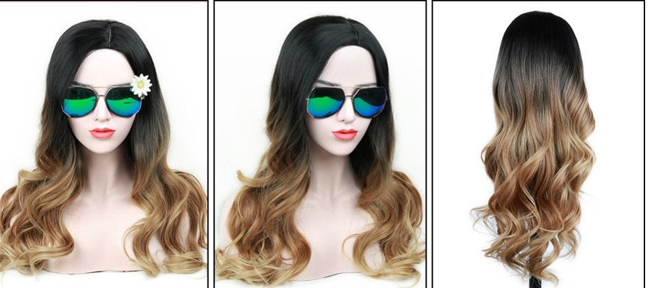Long Chic Ombre Wig