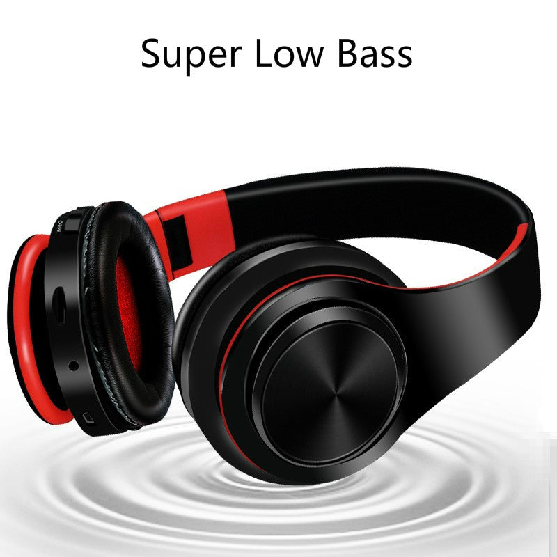 Large adjustable wireless headphones