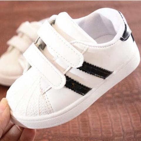 Scarpe Bimbo Black Stripes