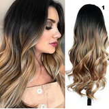 Parrucca Long Chic Ombre