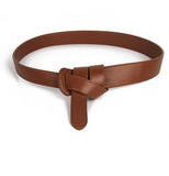 Style belt in faux leather with bow