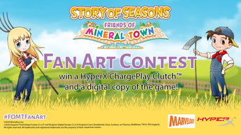 STORY OF SEASONS: Friends of Mineral Town Fan Art Competition