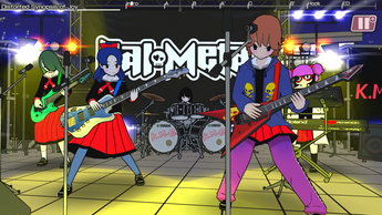 Rock out to save Earth from alien invasion in Gal Metal, out now for Nintendo Switch